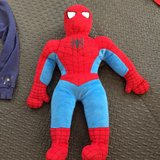 Large Spider Man Plush Toy in Batavia, Illinois