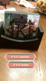 """Letter """"K"""" coasters in Conroe, Texas"""