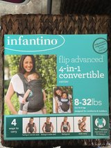 Infantino 4 in 1 convertible carrier in Leesville, Louisiana