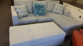 Price Drop Chofa Sectional w/Storage Ottoman in Beaufort, South Carolina