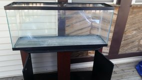 Fish tank ando stand in Lake of the Ozarks, Missouri
