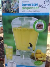 3 Gallon Beverage Dispenser with Cooling Cylinder in Barstow, California