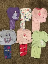 12 month girls carters pjs in Naperville, Illinois