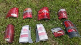 Several Different Vehicle Tail Lights in Houston, Texas