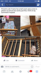 Toddler bed w/matress and sheets in Nellis AFB, Nevada