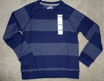 New w/tag Old Navy Ribbed Striped Crew Neck thermal/sweatshirt sz S (6-7) in Camp Lejeune, North Carolina