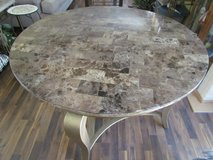 Marble Round Dining Table in Bolingbrook, Illinois