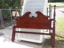 Queen headboard and frame in Fort Riley, Kansas