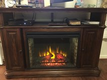 T.V. / Fireplace Stand with Heater in Fairfax, Virginia