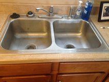 Stainless steel kitchen sink in Fort Campbell, Kentucky