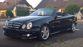MERCEDES AMG \\\ CLK 55 Convertible. LOADED, GPS, Leather, all pwd,  Collectors Condition in Ramstein, Germany