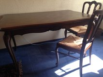 Antique table with 6 chairs in Ramstein, Germany