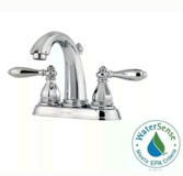 NEW Price pfister 4 inch 2-Handle Bathroom Faucet in Alamogordo, New Mexico