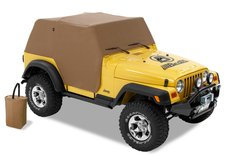 Jeep TJ Wrangler Best Top Bad Weather removable fitted sail cloth cover in Okinawa, Japan