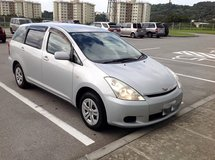 2003 TOYOTA WISH (will sell MVP van too for package deal) in Okinawa, Japan