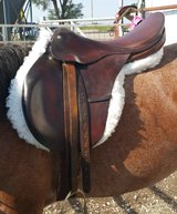 "Gidden English Dressage saddle 17.5"" in Salina, Kansas"
