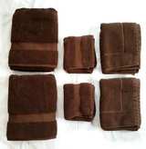 Bath Towels 6 pc lot Brown - Wamsutta Duet in Salina, Kansas