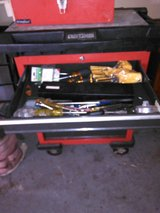 Craftsman 5 Drawer Toolbox with misc Tools in Houston, Texas