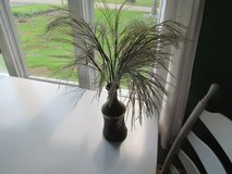 Tan Vase With Straw Reeds in Joliet, Illinois