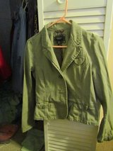 Women's American Eagle Outfitters Jacket/Olive Green in Lockport, Illinois