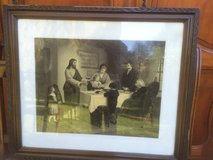 Antique religious picture in Ramstein, Germany