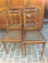 6 antique bistro chairs from France in Ramstein, Germany