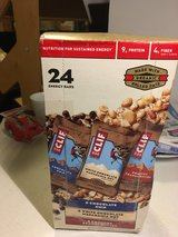 Cliff bar 24 pack variety pack 6/2017 in Fort Riley, Kansas