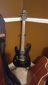 Schecter Electric Guitar with Amp in Houston, Texas