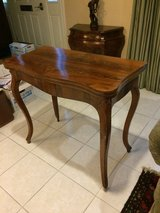 "Antique French Table (Foldable) - Expandable to use as a ""Game"" table in Sugar Land, Texas"
