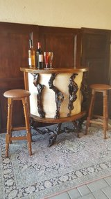 Mid Century/ Bar / 2 stools in Ramstein, Germany