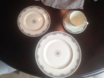 Royal Doulton Albany Pattern China 12 place settings with accessory pieces in Naperville, Illinois