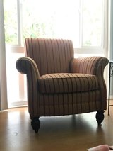 REDUCED: Striped Sam Moore Accent Chairs (2) in Los Angeles, California