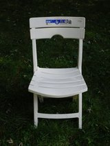 new plastic folding chair in Glendale Heights, Illinois