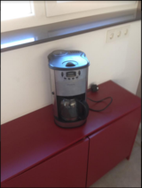 220-250V Programmable Coffee Grinder/Maker in Ramstein, Germany