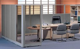 Fabric and Glass Partitions/Cubicles $79 in San Diego, California