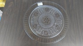 Depression glass Large Sandwich tray in Naperville, Illinois