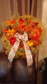 Thanksgiving Wreath in DeRidder, Louisiana