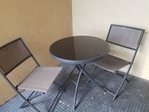 Patio table and chairs in Lawton, Oklahoma