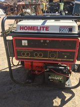 Homelite generator in Yucca Valley, California