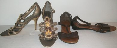 """Sz 9M or 9.5M Copper Vera Wang Sandles or BCBG 4"""" Heels / Shoes in Bolingbrook, Illinois"""