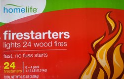 Firestarters - Pack of 24 (Unopened) in Glendale Heights, Illinois