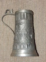 Large Military Pewter Stein in Stuttgart, GE