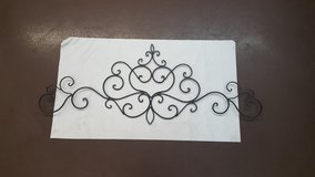 """Kirkland's Wrought Iron Wall Decor 16"""" x 42"""" in The Woodlands, Texas"""