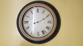 """Westminister Court Clock 22"""" Round in The Woodlands, Texas"""