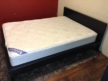 Queen Size Bed (Including Mattress) in Tomball, Texas