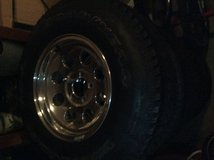 Jeep Wrangler Alloy Wheels and Tires in Warner Robins, Georgia