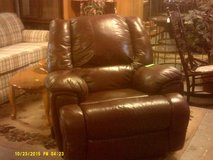 Leather rocker, recliner in San Diego, California