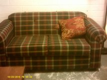 Plaid Love Seat in 29 Palms, California