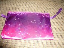 Brand new purple & pink zippered pouch / bag in Valdosta, Georgia