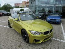 2015 BMW M4 Convertible in Hohenfels, Germany
